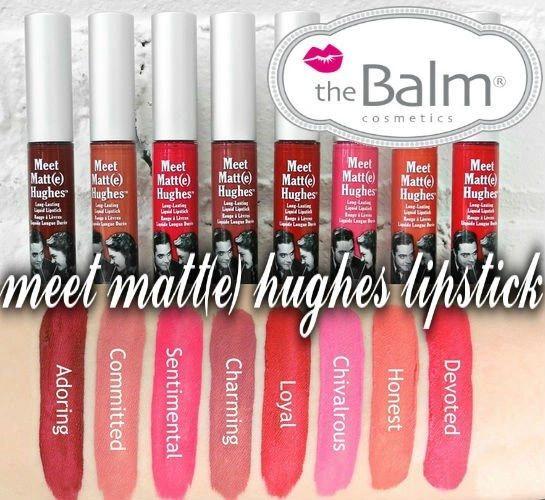 Meet Matt(e) Hughes Long Lasting Liquid Lipstick Choose Your Shade
