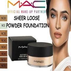 MAC Sheer Loose Powder Foundation Choose Your Shade