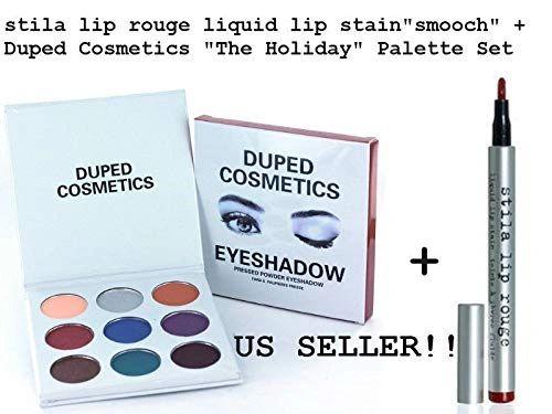 Duped Cosmetics Holiday w Stila Lip Rouge Liquid Lip Stain Set