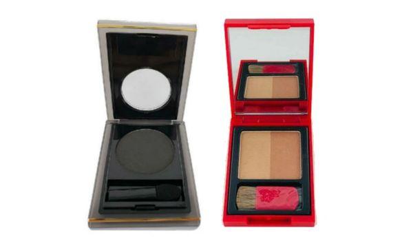 Elizabeth Arden Bronzing Powder Duo+Color Intrigue Eyeshadow-Urban Set