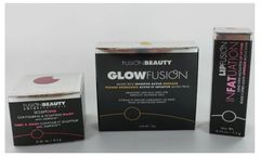 Fusion Beauty GlowFusion Bronzer+Lip Fattener+Contouring Blush Set
