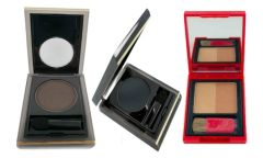 Elizabeth Arden Eyeshadow Ember#24,Urban#28 + Bronzing Powder Duo Set