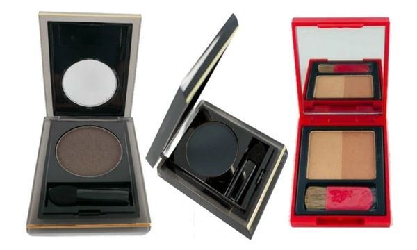 Elizabeth Arden Eyeshadow Ember#24,Urban#28 + Bronzing Powder Duo Set