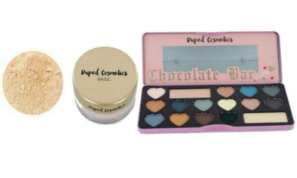 Duped Cosmetics Loose Foundation Light +Duped Semi Sweet Eyeshadow Set