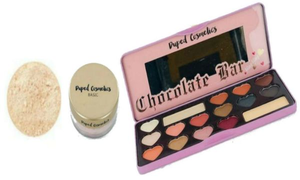 Duped Basic Foundation Fair + Sweet Peachy Eyeshadow Palette Set