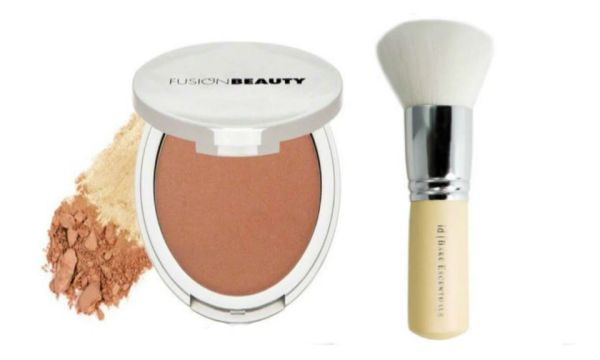 Fusion Beauty Glow Fusion Micro-Tech Bronzer+I.D.Bare Escentuals Brush Set
