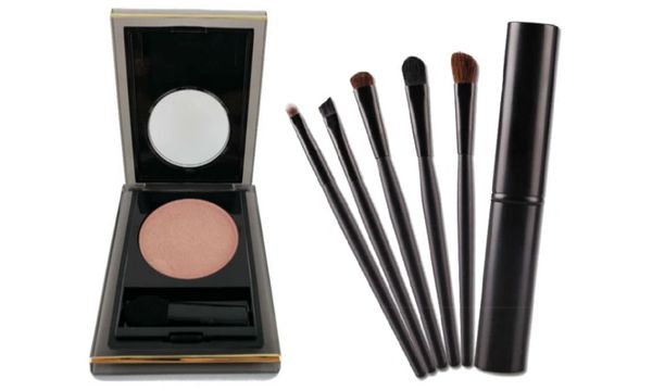 Elizabeth Arden Eyeshadow Party # 07+5pcs Tool Eyeshadow Brush Set