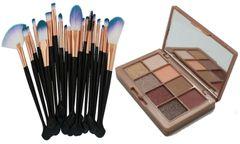 Khroma Beauty Kourtney's Kardazzle &Pro 20pcs Makeup Brushes Tool Set