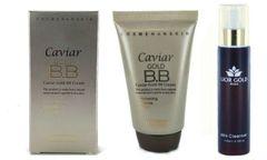 Hanskin Caviar Gold BB Cream 43.5g+Lior Gold Paris Milk Cleanser Set