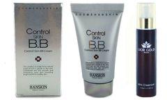 Hanskin Control Skin BB Cream+Lior Gold Milk Cleanser Set