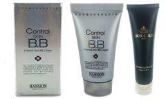 Hanskin Control Skin BB Cream+Lior Gold Exfoliating Cleanser Set