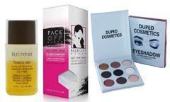 Laura Mercier Eye MakeUp Remover &Face Off Cloth+Duped Smoky Palette Set