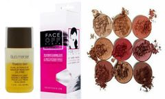 Laura Mercier Eye MakeUp Remover&Face Off Cloth+Duped Burgundy Palette Set
