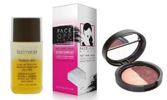 Laura Mercier Eye Make Up Remover+Face Off Cloth+Geller Eyeshadow Set
