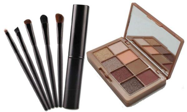 Khroma Beauty Kourtney's Kardazzle & 5pcs Tool Eyeshadow Brush Set