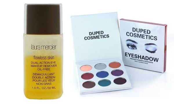 Laura Mercier Flawless Eye Make Up Remover & Duped Holiday Palette Set