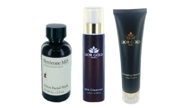 Perricone Citrus Facial Wash+Lior Gold Paris Milk&Exfoliating Cleanser Set