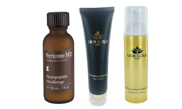 Perricone Necolletage+Lior Gold Paris Exfoliating&Purifying Cleanser Set