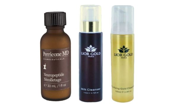 Perricone MD Necolletage+Lior Gold Paris Milk &Purifying Cleanser Set