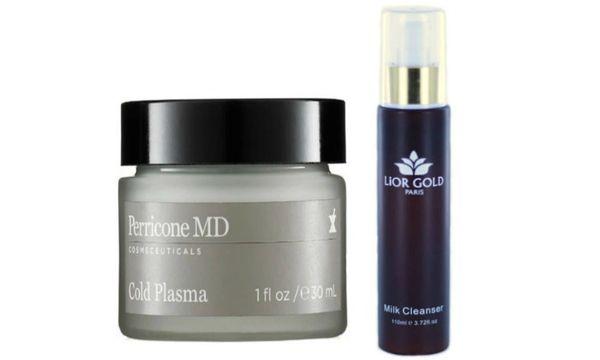 Perricone MD-Cold Plasma + Lior Gold Paris Milk Cleanser Set