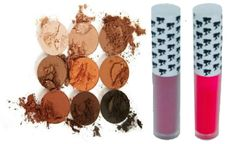 The Bronze Palette by Duped & 2Pcs Doll Face Matte Lipstick Set