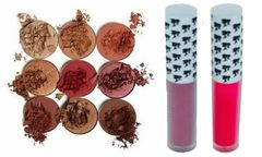 The Burgundy Palette by Duped &2pcs Doll Face Matte Lipstick Set