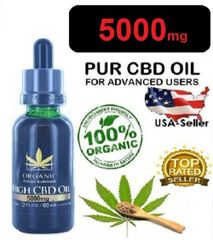 Organic High CBD Oil 5000Mg (60ml)