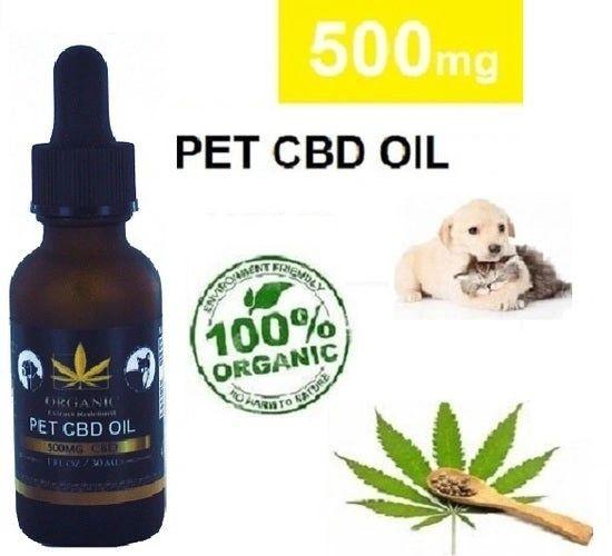 Organic Pet CBD Oil 500Mg (30ml)