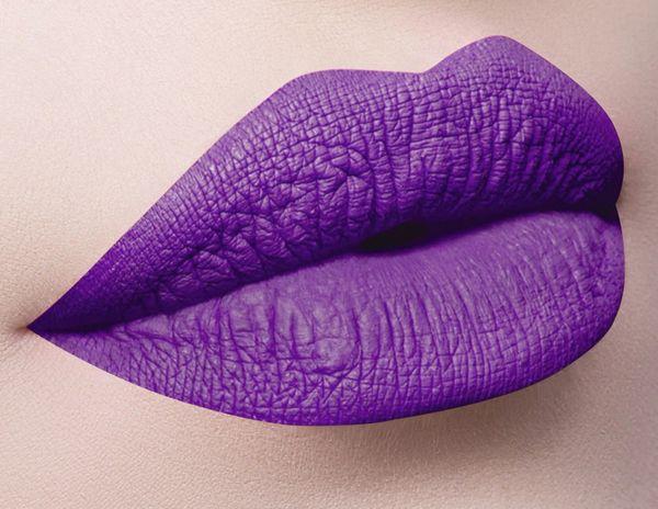 Dose of Colors Purple Rain Liquid-Matte Lipstick