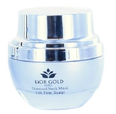 Lior Gold Diamond Neck Mask Lift, Firm, Sculpt