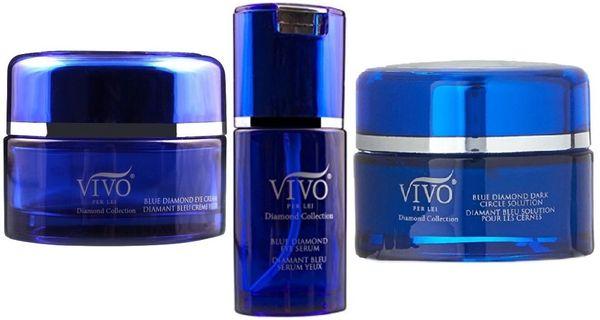 Vivo Per Lei Blue Diamond Collection Eye Set of 3