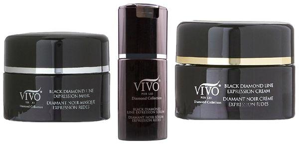 Vivo Per Lei Black Diamond Line Expression Set of 3