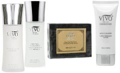 Vivo Per Lei Dead Sea Minerals 4-Piece Cleanser Set