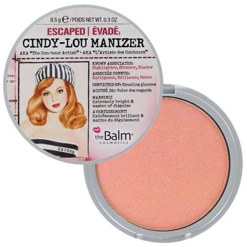 "The Balm Cindy-Lou Manizer ""The Con-tour Artist"" - Highlighter, Shimmer & Shadow"