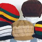 XL RASTA FESTIVAL COTTON CROWN CAPS