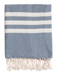 Soft Turkish Towel- Indigo
