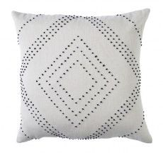 Linen French Knot Diamond