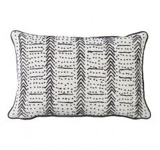Linen French Knot Cushion Lumbar