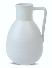 Matte White Ceramic Vase Tall