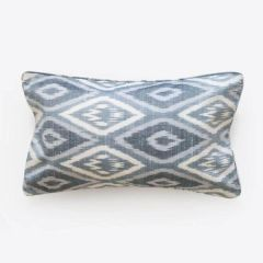 Ikat Silk Cushion- Lumbar