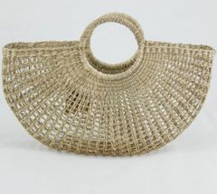 Shelley Seagrass Basket