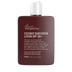 We Are Feel Good Inc Sunscreen- Coconut SPF 50+