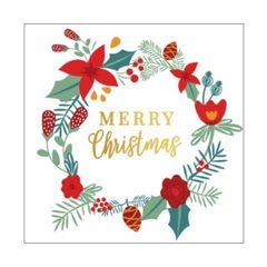 Christmas Cards Box of 10- Wreath