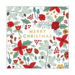 Christmas Cards Box of 10- Botanicals