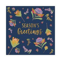 Christmas Cards Box of 10- Botanical Natives