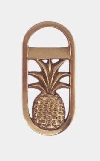 Bottle Opener- Brass Pineapple