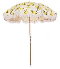 Beach Umbrella Vintage Lemons