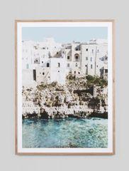 Amalfi Village Print