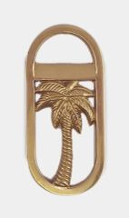 Bottle Opener- Brass Palm