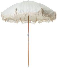 Premium Beach Umbrella Lauren Stripe by Business & Pleasure Co.